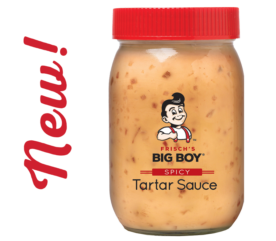 Our NEW Frisch's Big Boy Spicy Tartar Sauce is available for purchase.